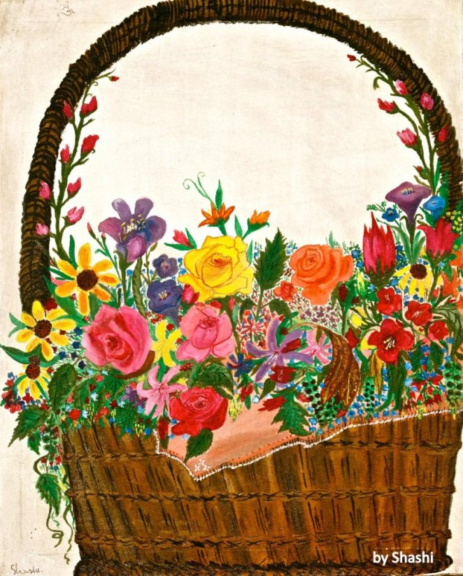 02-Flower Basket 1988
